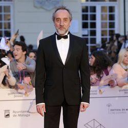 Gonzalo de Castro en la gala de clausura del Festival de Málaga 2014