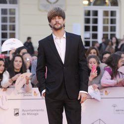 Luis Fernández en la gala de clausura del Festival de Málaga 2014