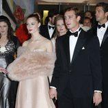 Pierre Casiraghi y Beatrice Borromeo en el Baile de la Rosa de Mónaco 2014