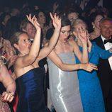 Carlota Casiraghi bailando con la música de Mika en el Baile de la Rosa de Mónaco 2014