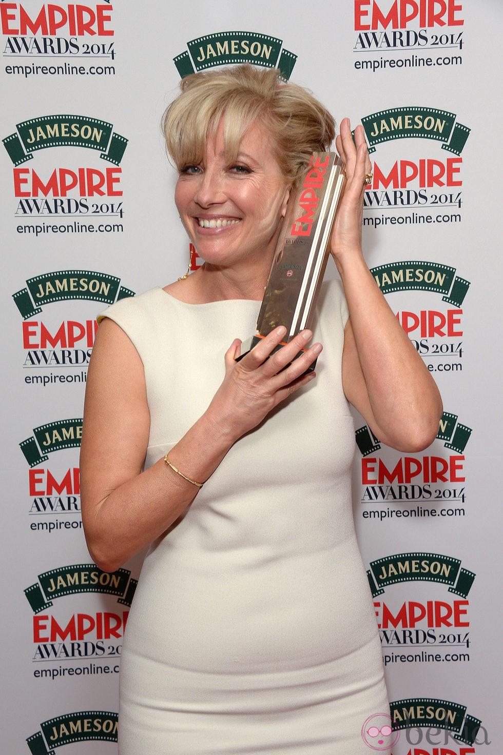 Emma Thompson en los Premios Empire 2014