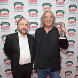 Brian Cox y Paul Greengrass en los Premios Empire 2014