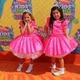Sophia Grace y Rosie en los Kids Choice Awards 2014