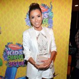Eva Longoria en los Kids Choice Awards 2014