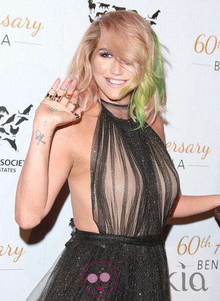 Kesha reaparece en la 60ª gala de la Sociedad Protectora de Animales
