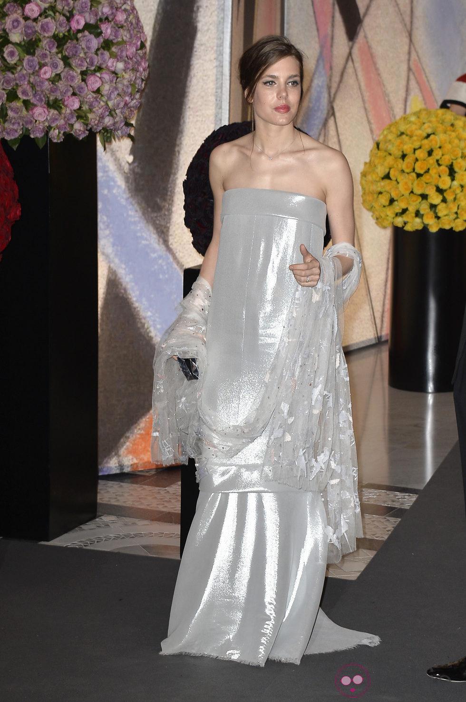 Carlota Casiraghi en el Baile de la Rosa 2014