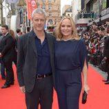 Neil Burger en la premiere de 'Divergente' en Londres