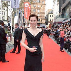 Veronica Roth en la premiere de 'Divergente' en Londres