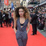 Ella Eyre en la premiere de 'Divergente' en Londres