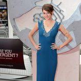Shailene Woodley en la premiere de 'Divergente' en Londres