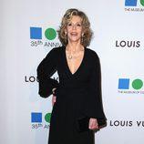 Jane Fonda en la fiesta del 35 aniversario del MOCA de Los Angeles