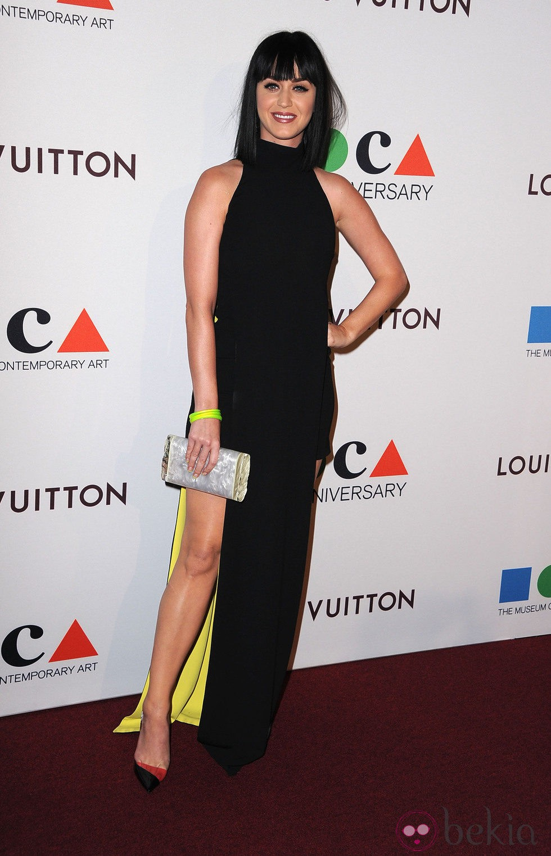 Katy Perry en la fiesta del 35 aniversario del MOCA de Los Angeles