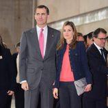 Los Príncipes Felipe y Letiza en la inauguración de Alimentaria 2014