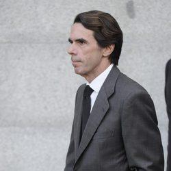 José María Aznar en el funeral de Estado de Adolfo Suárez