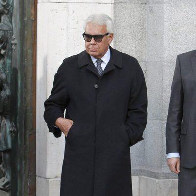 Felipe González en el funeral de Estado de Adolfo Suárez