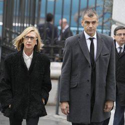 Rosa Díez y Toni Cantó en el funeral de Estado de Adolfo Suárez