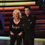 Pepe Rodríguez y Maribel Gil en '¡Mira quién baila!' antes de marcarse un rock and roll