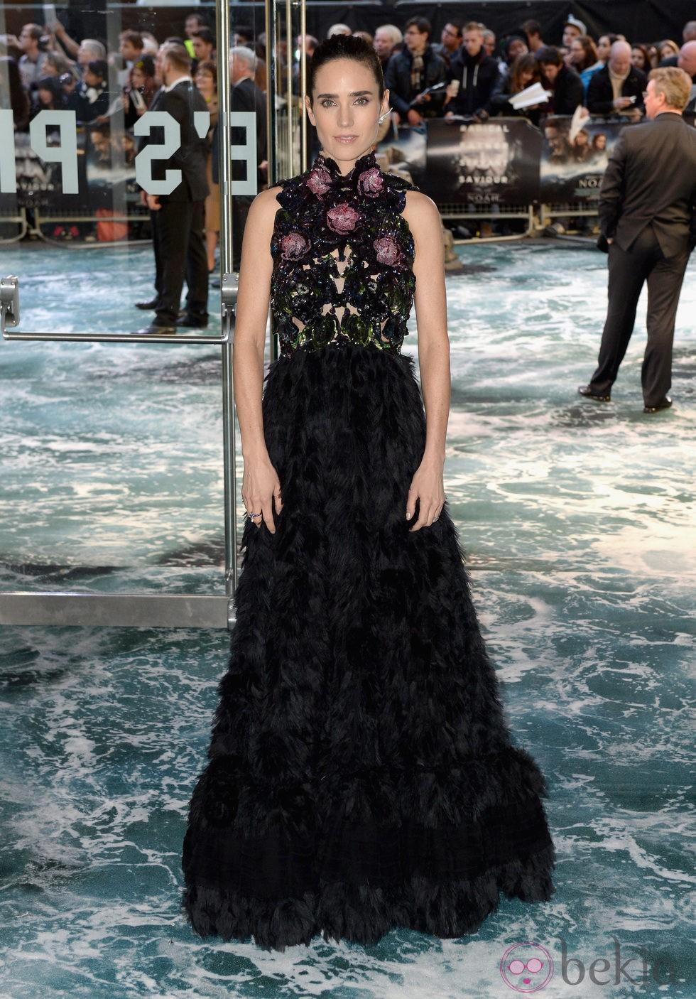 Jennifer Connelly en el estreno de 'Noé' en Londres