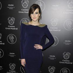 Natalia de Molina en una fiesta celebrada en el Casino Gran Madrid