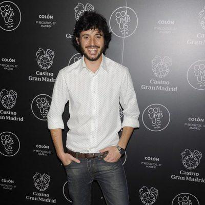 Javier Pereira en una fiesta celebrada en el Casino Gran Madrid