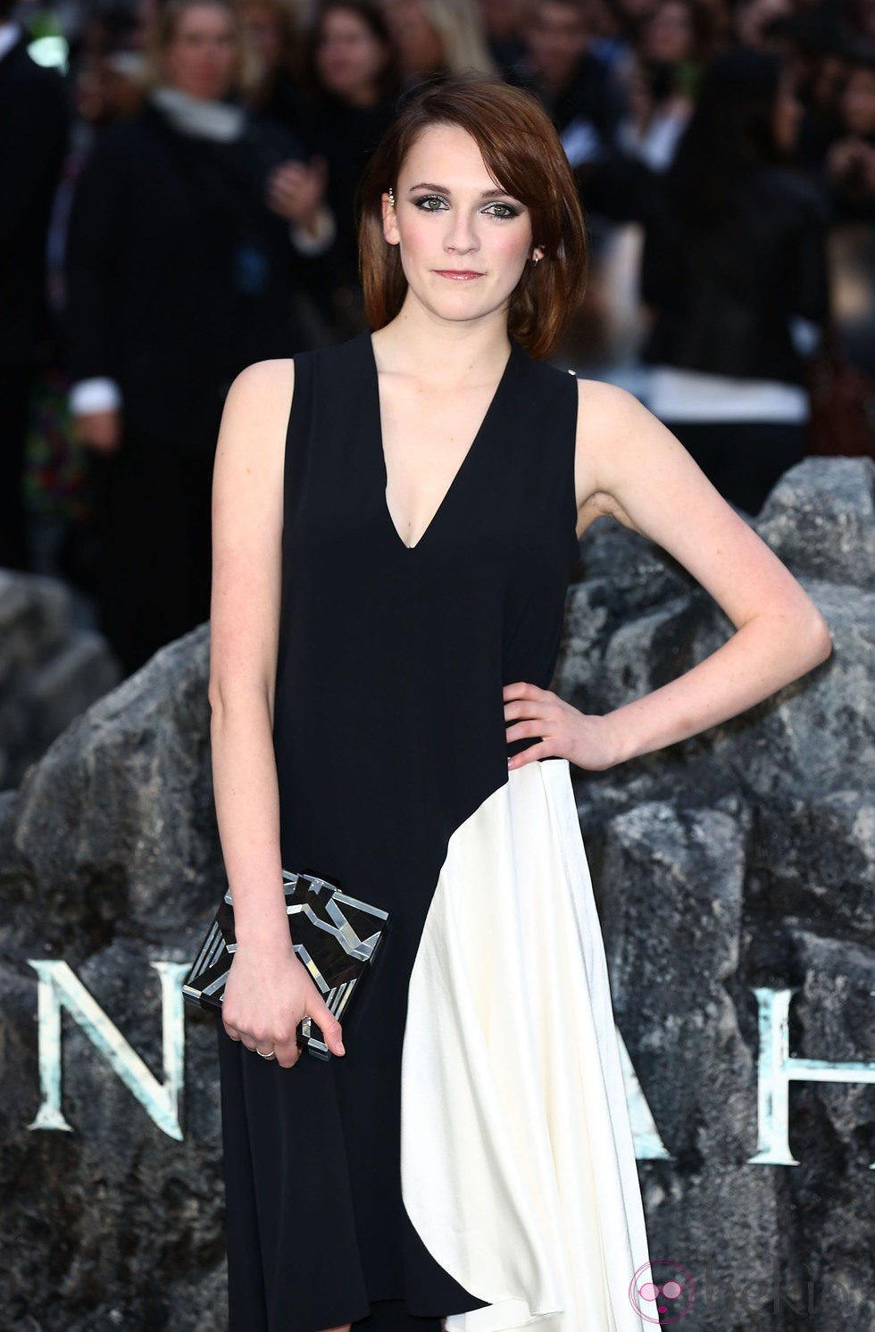 Charlotte Ritchie en el estreno de 'Noé' en Londres