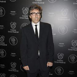 David Trueba en una fiesta celebrada en el Casino Gran Madrid