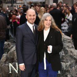 Darren Aronofsky y Patti Smith en el estreno de 'Noé' en Londres