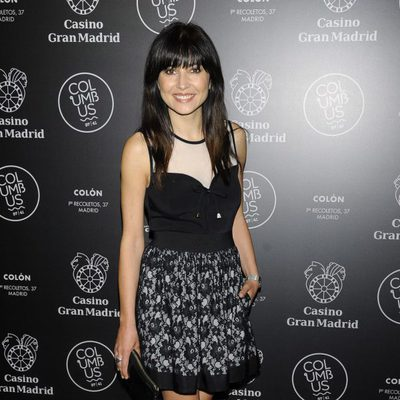Marian Álvarez en una fiesta celebrada en el Casino Gran Madrid