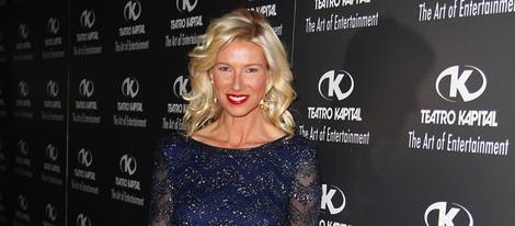 Anne Igartiburu en los Premios Kapital 2014