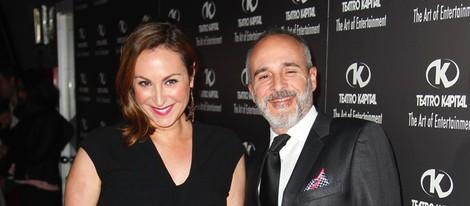 Ana Milán y Fernando Guillén Cuervo en los Premios Kapital 2014