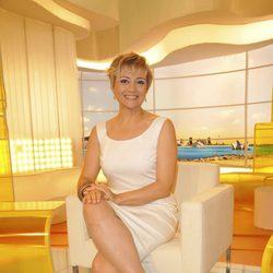 Gloria Serra en la presentación del programa '3D'