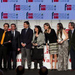 El selfie de la Princesa Letizia en la entrega del Premio 'El Barco de Vapor'
