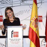 La Princesa Letizia da un discurso en la entrega del Premio 'El Barco de Vapor'