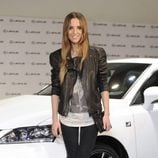 Ana Fernández en la presentación de un nuevo modelo de coche
