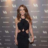 Liz Hurley en la inauguración de la exposición 'The Glamour of Italian Fashion 1945-2014'