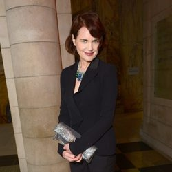 Elizabeth McGovern en la exposición 'The Glamour of Italian Fashion 1945-2014'