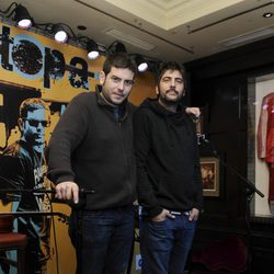 José y David Muñoz, Estopa, en la presentación de su gira 'A solas'