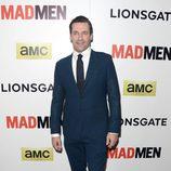 Jon Hamm en el estreno de la última temporada de 'Mad Men'
