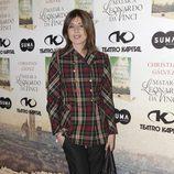 Sandra Barneda en la presentación del libro 'Matar a Leonardo da Vinci'