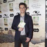 Christian Gálvez en la presentación de su libro 'Matar a Leonardo da Vinci'