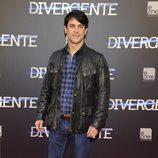 Alejo Sauras en el estreno de 'Divergente' en Madrid