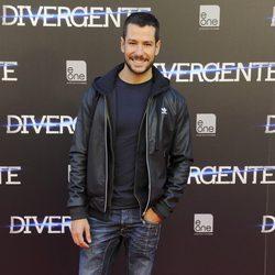 Alejandro Albarracín en el estreno de 'Divergente' en Madrid