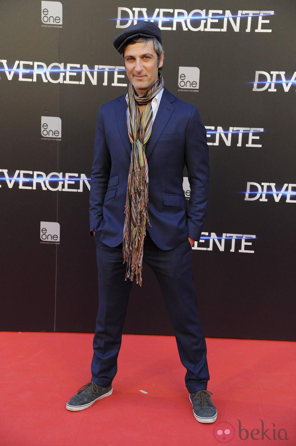Ernesto Alterio en el estreno de 'Divergente' en Madrid