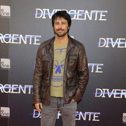 Hugo Silva en el estreno de 'Divergente' en Madrid