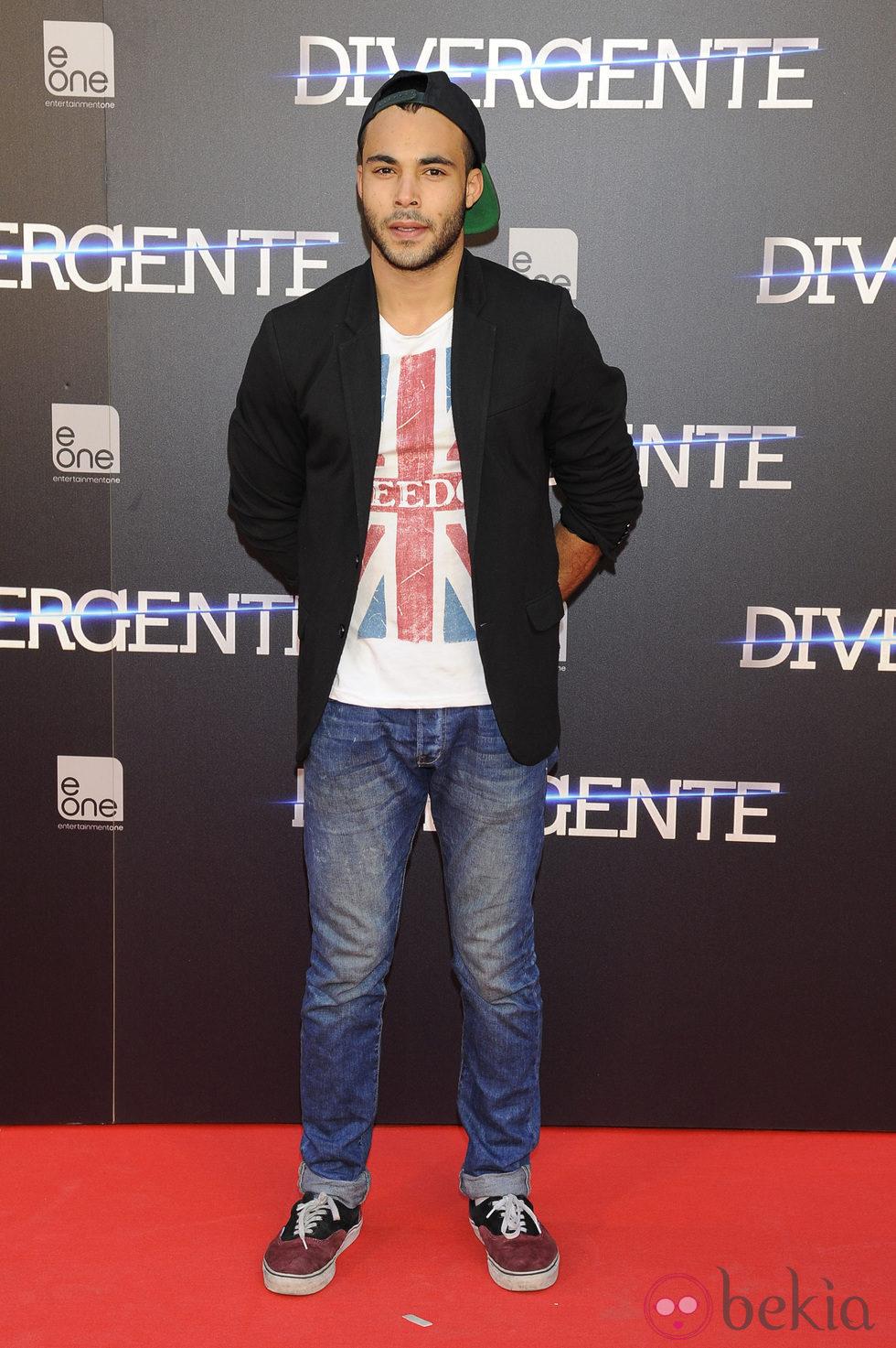 Nasser Saleh en el estreno de 'Divergente' en Madrid