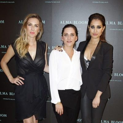 Kira Miró, María León e Hiba Abouk inauguran la tienda de Alma Bloom en Madrid