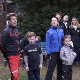 Federico y Mary de Dinamarca con los Príncipes Christian e Isabel en Find Your Way Day