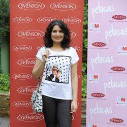 Ledicia Sola en el estreno del corto 'Pelucas'