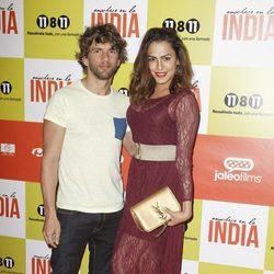 Amor Romeira en el estreno de 'Anochece en La India'