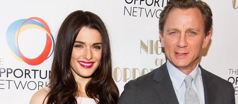 Rachel Weisz y Daniel Craig en la séptima Gala 'Night of Opportunity'